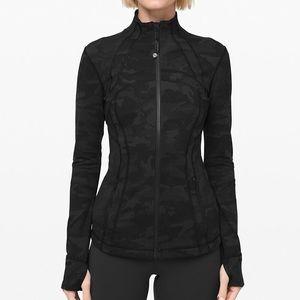 NWT Lululemon Define Jacket Luon Camo Multi Grey 6